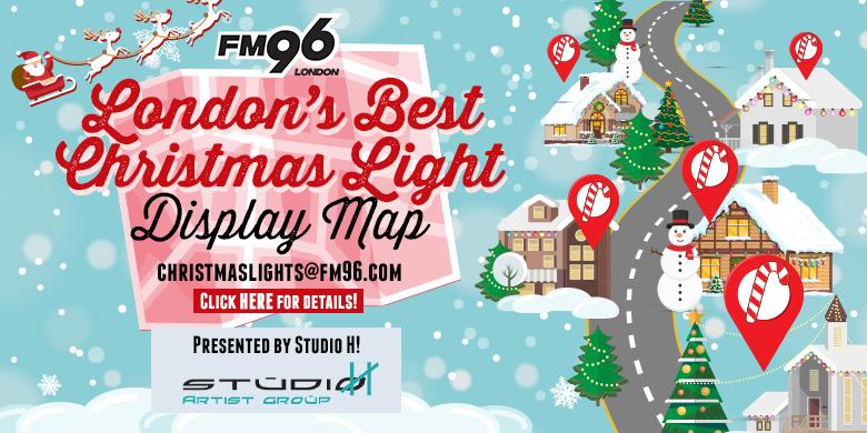 Best Christmas Lights Display Map