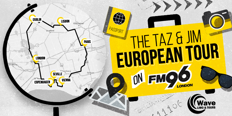 Taz & Jim European Tour #3 – Copenhagen and Vienna