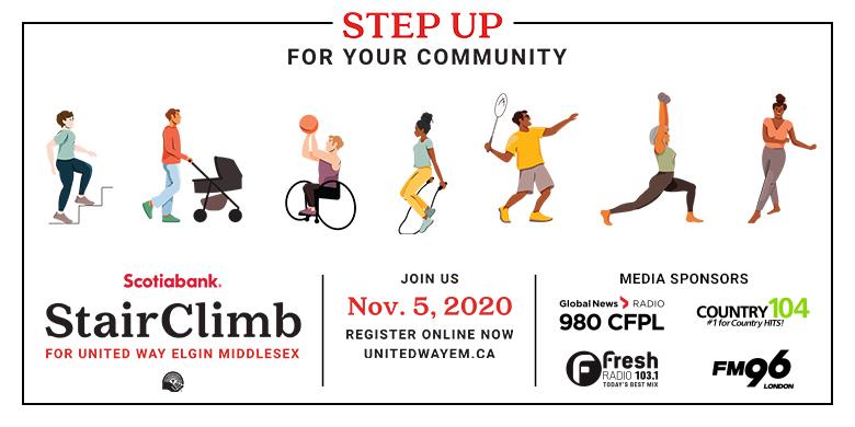 United Way Stair Climb – Virtual!