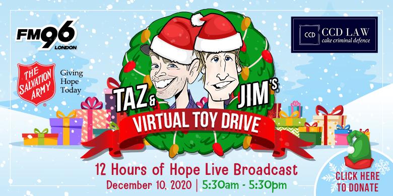 Taz Show Toy Drive