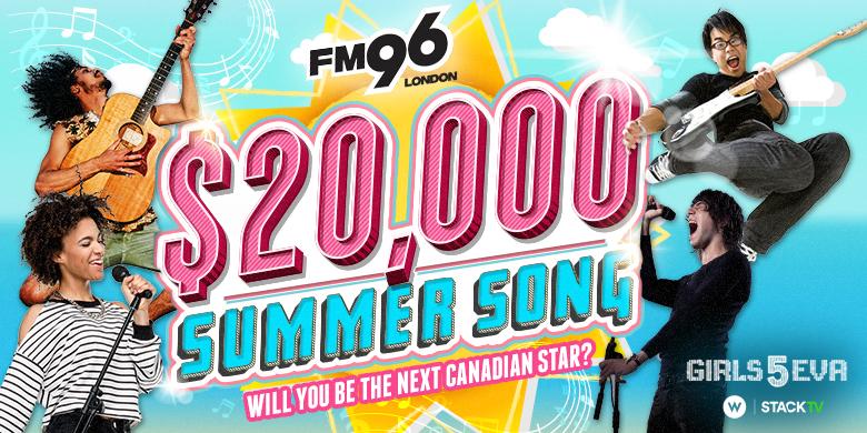 FM96 $20,000 Summer Song!