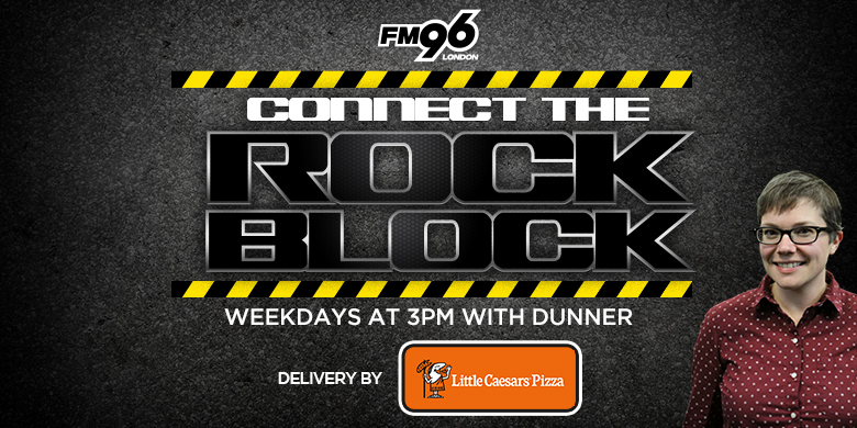 Connect The Rock Block Delivery by Little Caesars
